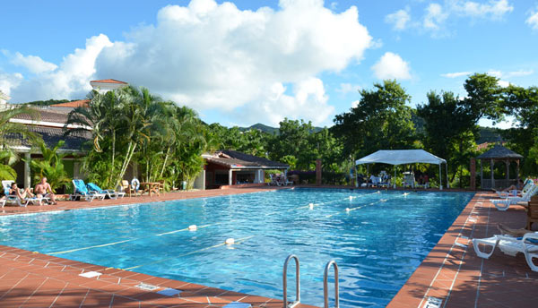 Jolly Harbour Swimming Pool Image